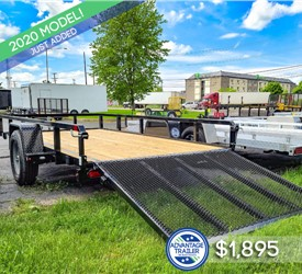Sure-Trac 6'x12' Tube Top Utility Trailer