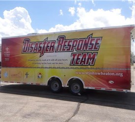 24 Foot Long Mobile Disaster Response Trailer