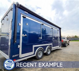 20' Mobile Prop Shop Trailer for Boston Scott Golf - Example