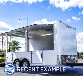 8.5'x16' Stealth Concession Trailer - Recent Example