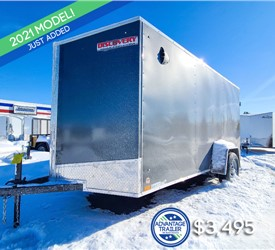 6'x12' Discovery Cargo Trailer with Rear Cargo Doors