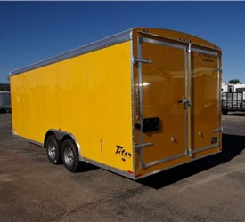 8.5' x 20' Electrical Contracting Trailer