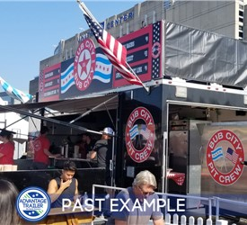 24' Custom BBQ Stage Trailer for Bub City - Past Example