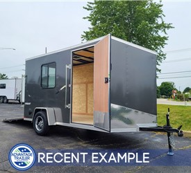 6'x12' Formula Conquest Cargo Trailer with Window - Recent Example