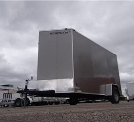 Custom 6' x 12' Cargo Trailer with 2' Wedge Nose