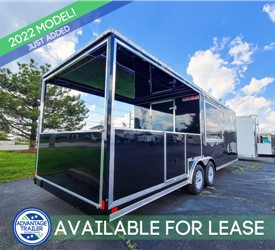 26' BBQ Trailer - AVAILABLE FOR LEASE