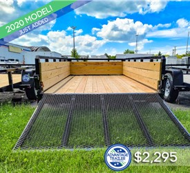 Sure-Trac 6'x12' 3-Board Utility Trailer
