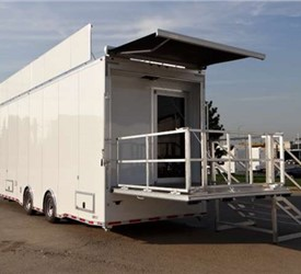 Real Estate Development Mobile Office and Showroom