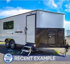 23' Office Trailer - Executive Model - Recent Example