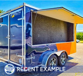 7'x14' Tailgating Trailer - Recent Example