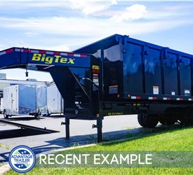 8'x20' Big Tex Dump Trailer - Recent Example