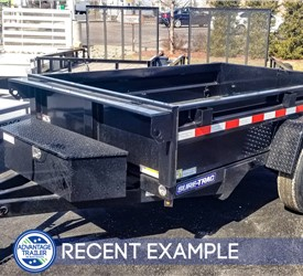Sure-Trac 5x8 Homeowner Dump Trailer - Recent Example