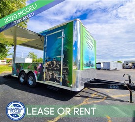 8.5'x16' Vending Trailer for Lease or Rent