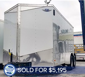 MTI 7'x14' Enclosed Cargo Trailer - Recent Example
