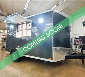 7'x12' Discovery Concession Trailer (White) - Coming Soon