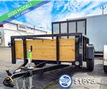 5'x8' Tube Top 3-Board Utility Trailer - Sure-Trac