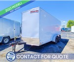 7'x14' Discovery Tandem Axle Cargo Trailer