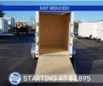 5' x 8' Aluminum Enclosed Cargo Trailer