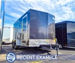 7'x14' Formula Traverse Cargo Trailer (Recent Example)