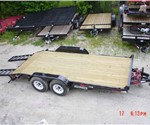18' Skid-Steer Bobcat Trailer