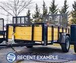 Sure-Trac 5'x8 Tube Top Utility Trailer - Recent Example