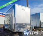 6'x12' ATC Cargo Trailer with Rear Ramp Door