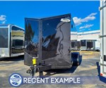 7'x14' Formula Motorcycle Trailer - Blackout - Recent Example