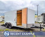 7'x14' Formula Traverse Cargo Trailer - Recent Example