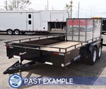 Sure-Trac High Side Utility Trailer