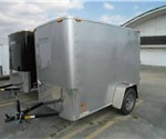 ENCLOSED 5' x 8' CARGO TRAILER WITH SWING DOORS