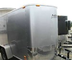 CARGO TRAILER 5' x 8' +2' WEDGE NOSE