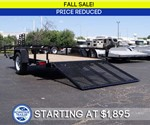 6' x 12' Tube Top ATV / Utility Trailer - Fall Sale!