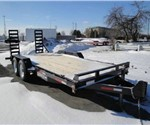18' SURE-TRAC EQUIPTMENT IMPLEMENT TRAILER