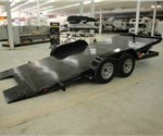 18' TILT BED CAR TRAILER