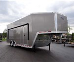 34' Pewter Custom Stacker Trailer