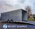 8.5'x24' ATC Raven Car Hauler Plus - Recent Example