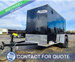 5'x8' Formula Traverse Cargo Trailer with Cargo Doors