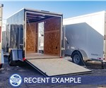 6'x10' Formula Traverse Enclosed Cargo Trailer - Recent Example