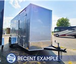 6'x12' Discovery Cargo Trailer - Silver - Recent Example