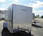 Enclosed Silver 6' X 12' Motiv Cargo Trailer