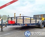 Used 6.4'x14' Utility Trailer