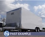 Custom 20' Polar White Car Hauler - Past Example