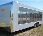 Clear Side Mobile Display And Marketing Trailer