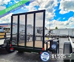 Sure-Trac 5'x8' Tube Top Utility Trailer