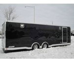 Motiv Enclosed RSX Car Trailer With Spead Axles And Finished Interior