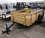 5' x 10' 4 Board Side Utility Trailer