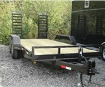 16' Skid-Steer Bobcat Equipment Trailer