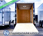 ATC 6'x10' Enclosed Cargo Trailer - Black