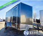 6'x12' Discovery Cargo Trailer with Rear Ramp Door