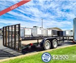 USED 8.5'x18' Utility Trailer - Forest River